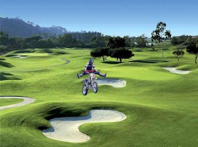 golf course motocross