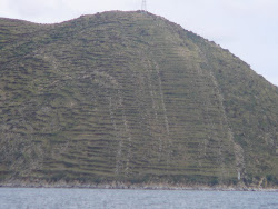 Inca Terraces, Copacabana, Lake Titicaca