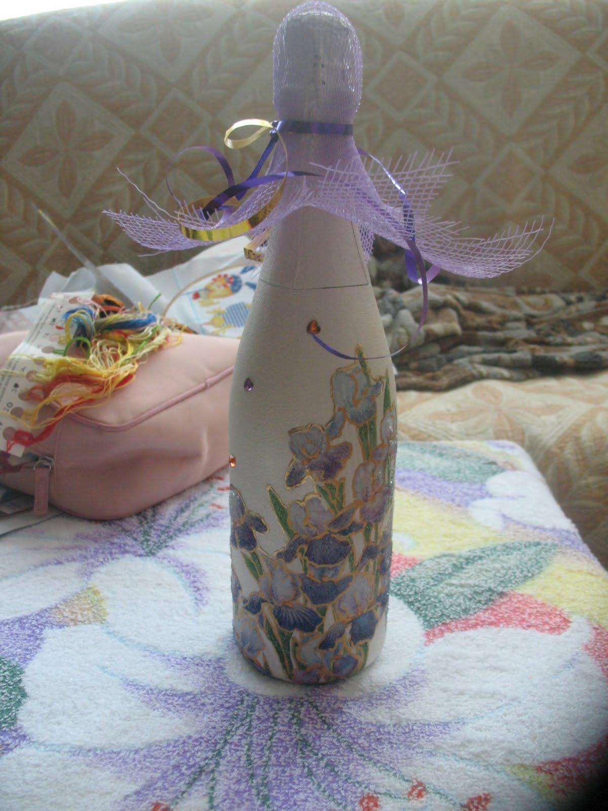 Подарок из бутылки фото