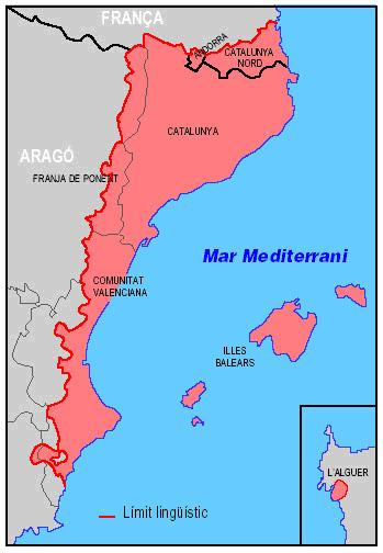 Països Catalans - Katalanischen Länder