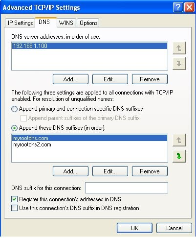[SOLVED] Multiple DNS suffix search list in AD domain ...