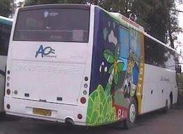 Bus Wisata Wartawan Purwodadi