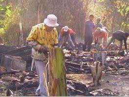 Kebakaran Rumah Di Grobogan
