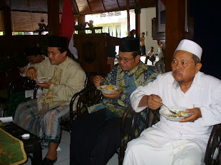 Ulama Dalam Acara HUT  H Bambang Pudjiono SH Ke 52