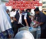 Sumbangan Untuk Program Bubur Lambok pada bulan Ramadhan 2010 / 1431Hijrah