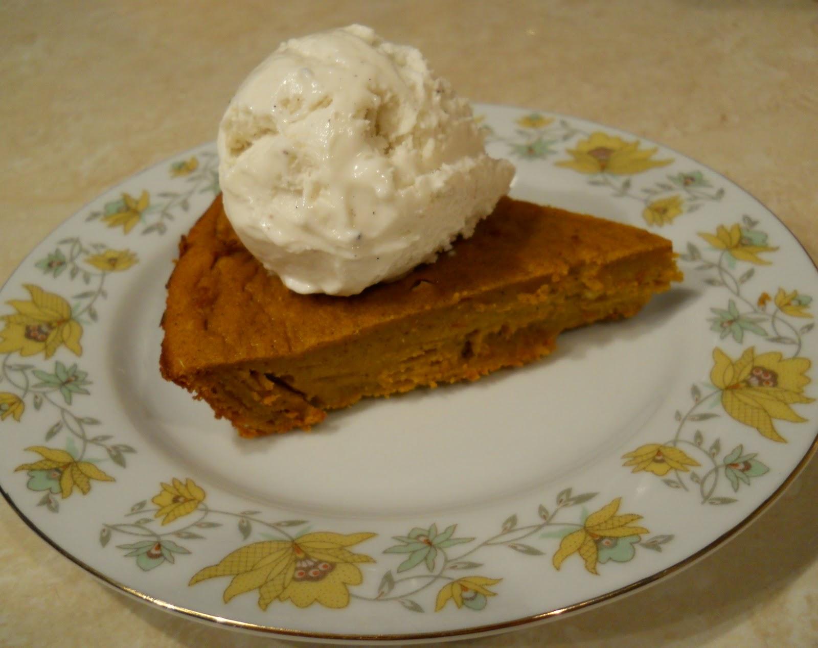 Brown Sugared Hubbard Squash Pie