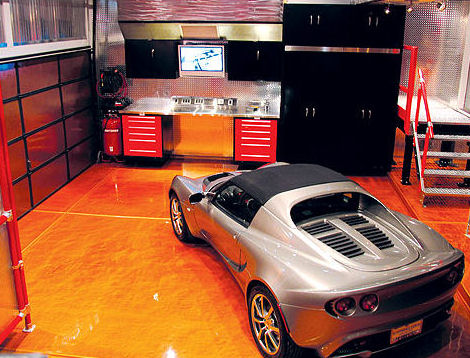 Home design oktober 2010 Unique garage designs
