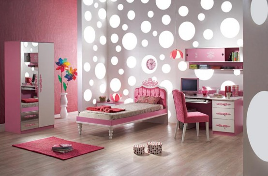 For Pink Girls Bedrooms
