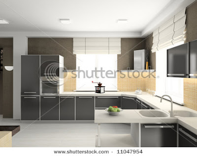 Kitchen Design on Modern 3d Cook Room   Modern Cabinet
