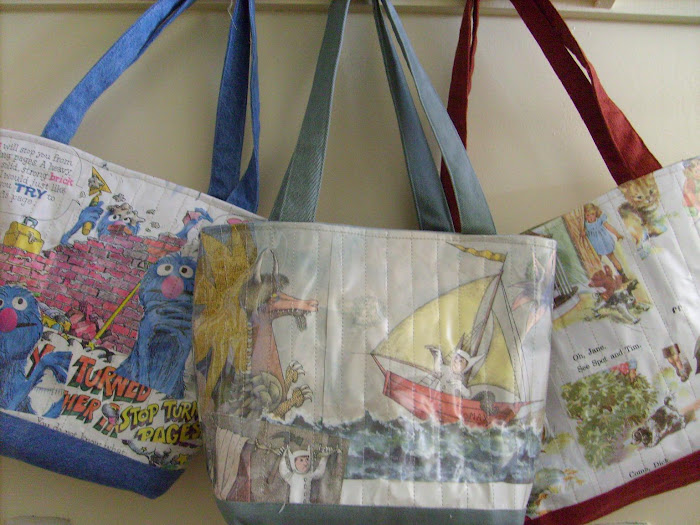 Recycled Storybook Purses