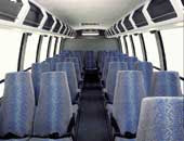 Interior of Mini-Coach