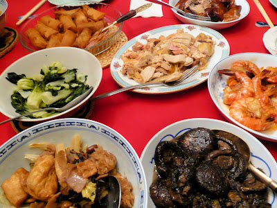 203 chinese new year reunion dinner january 25 2009 stewed mushrooms pictured on right hand corner forumfinder Image collections