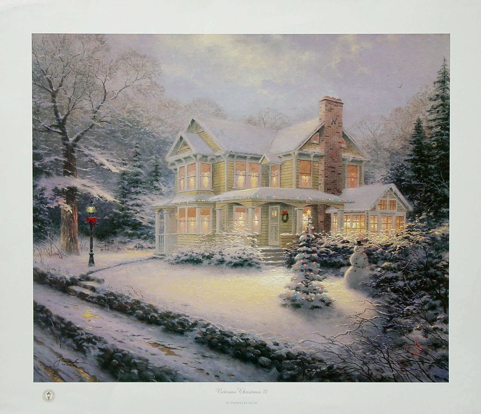 victorian christmas scenes - photo #23