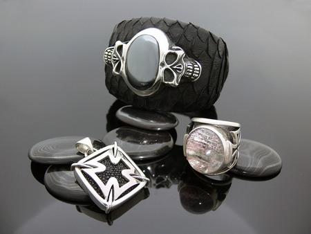 biker jewelry and leather ezine mercurious designs