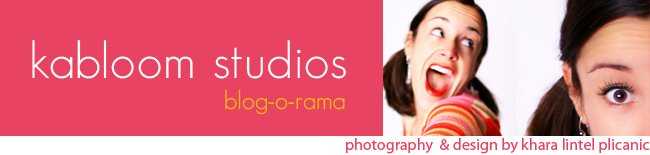 KaBloom Studios -  Blog-o-Rama