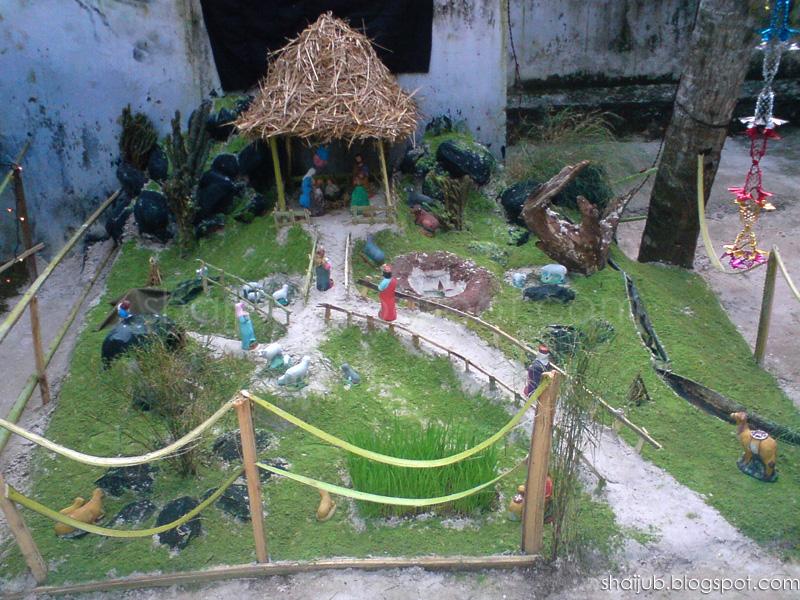 Pulkoodu Crib Creation Contest At CSI Peringammala