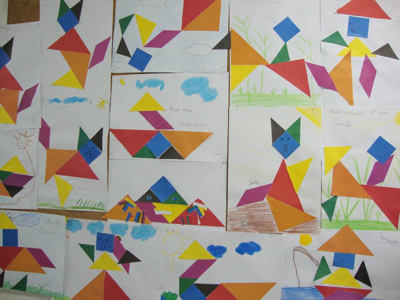 Figuras Geom  Tricas  Coloridas E Divertidas