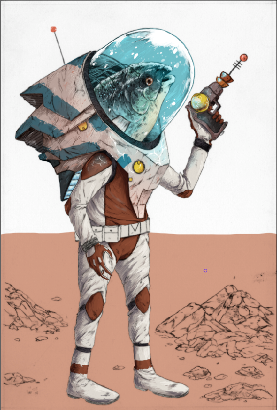 FISH ASTRONAUT