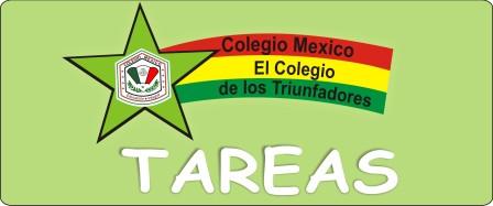 Colegio México: Tareas
