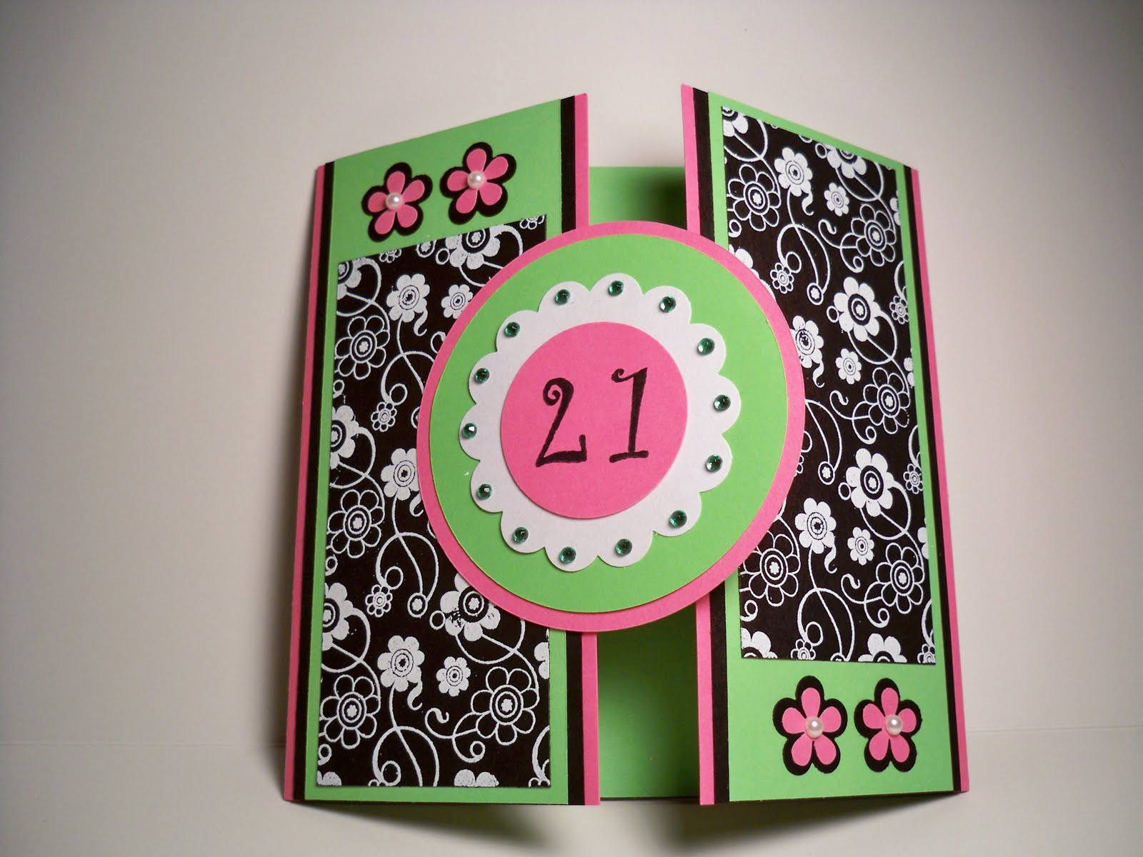 Card Creations More by C Birthday Card Card for my Sister for – Sister 21st Birthday Card
