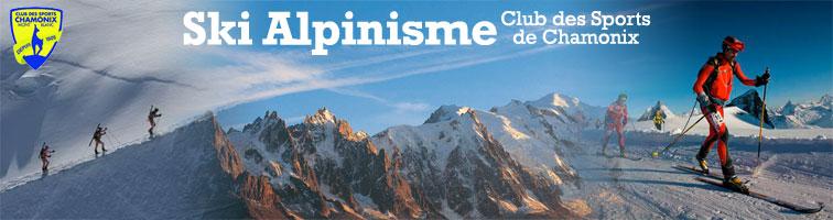 Ski Alpinisme Chamonix - Club des Sports de Chamonix Mont Blanc, Ski Mountaineering