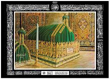 Maqam Rasulullah S.aw. Disebelah Kiri adalah Maqam Syidina Abu Bakar As-Siddiq R.a.