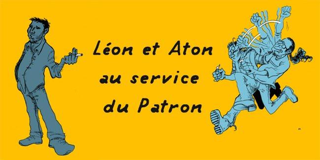 Léon et Aton au service du Patron