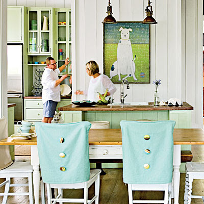 Sweeter Homes: Dining Rooms with a Coastal Touch