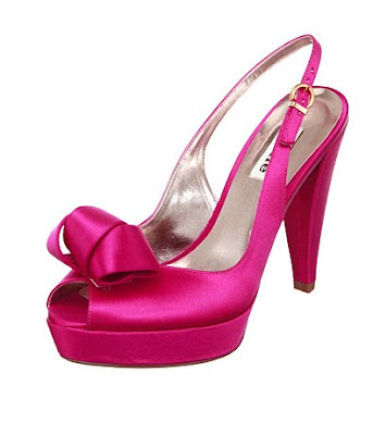 hot pink shoes. be soft and romantic PINK