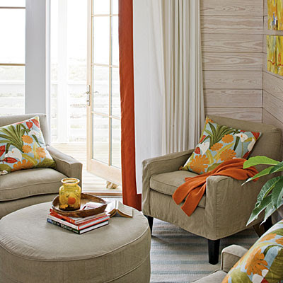 Site Blogspot  Family Room Furniture on Palette For The Family Room  Aqua  Persimmon  Saffron  And White