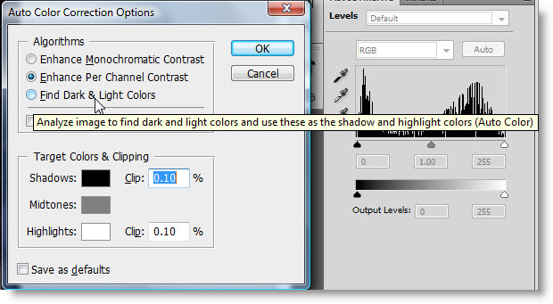 How To Use The Improved Auto Levels Adjustment In Photoshop