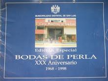 Revista de la Municipalidad 1998
