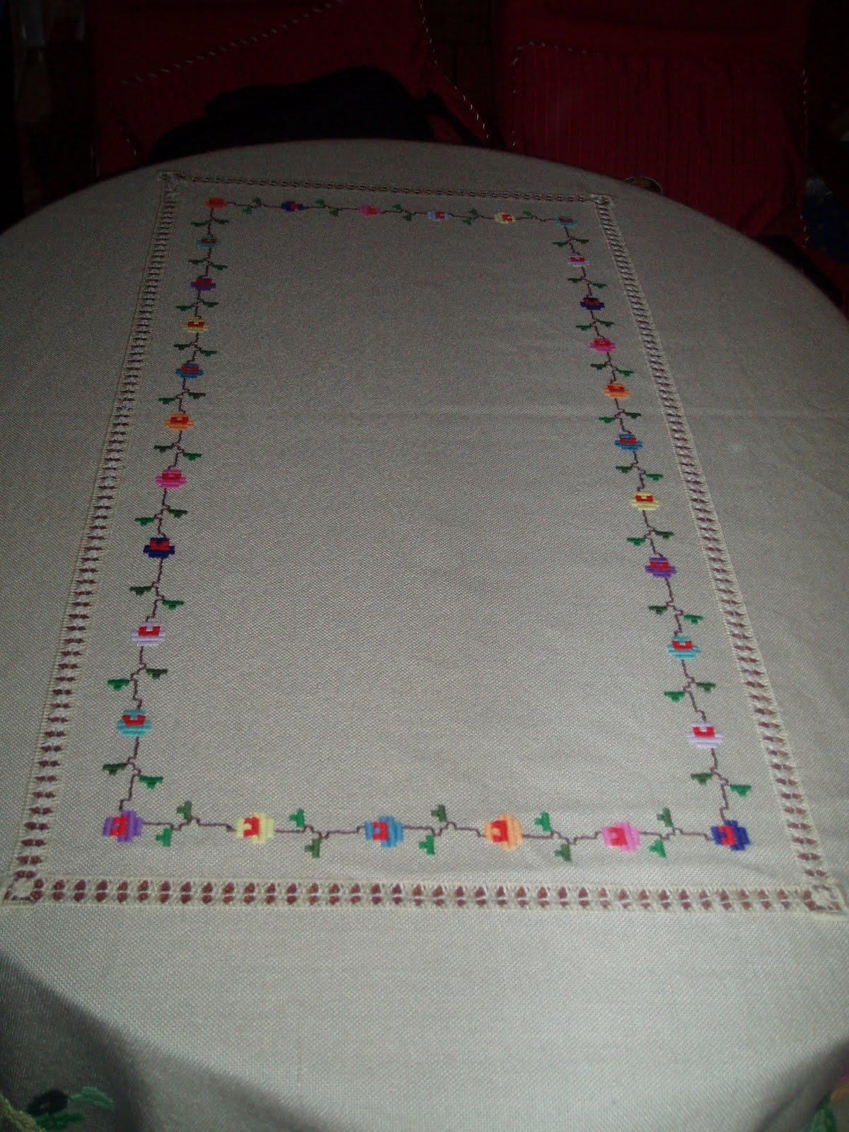 Manteles de mesa bordados great valor unitario pesos - Manteles de mesa bordados ...
