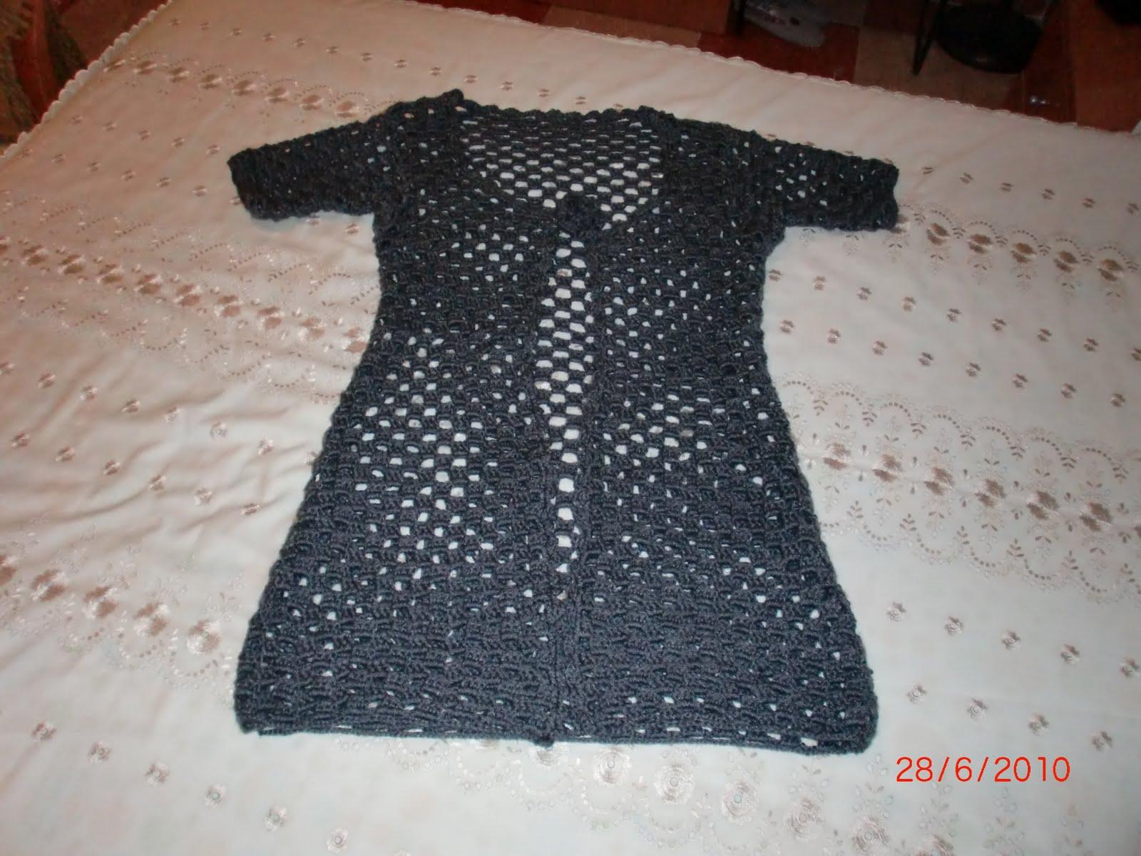 Las labores de sabella chaqueta de lana a ganchillo - Labores de punto de lana ...