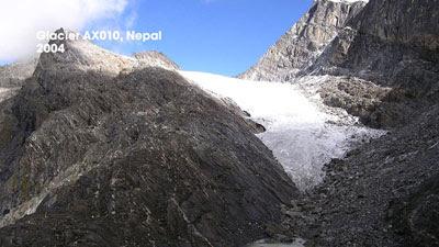 Glacier AX010, Nepal - 2004