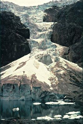 Peruvian glacier - 1980.