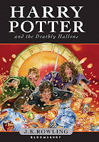 Harry Potter and the Deathly Hallows - front cover.