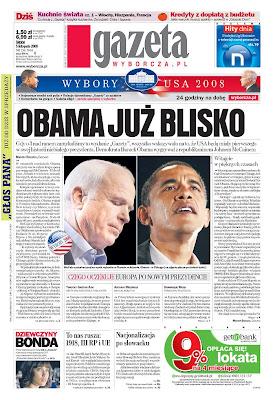 Gazeta Wyborcza, Warszawa, Poland.