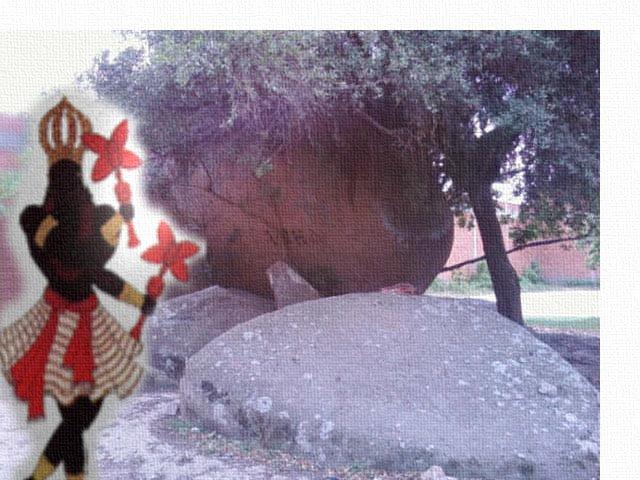 A Pedra do Pai Xangô
