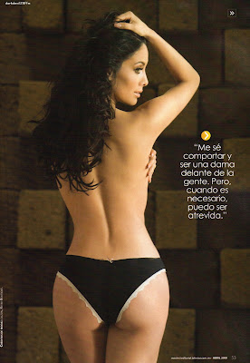 Sugey Abrego Maxim magazine Cover photos