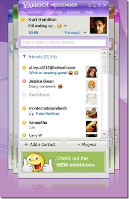 Yahoo messenger offline installer Free Download