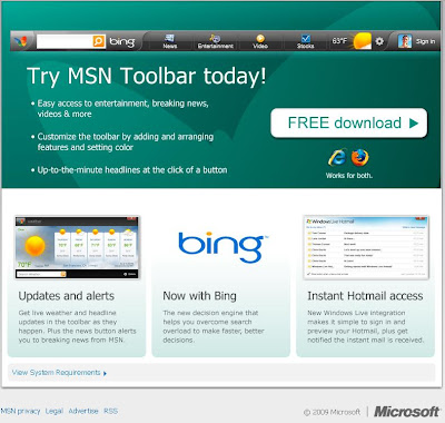 Bing toolbar | Download Bing.com Toolbar