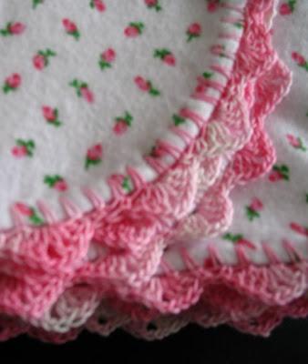 Free Crochet Edge Patterns Receiving Blanket ~ Pakbit for .
