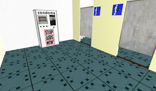 Second life - toilets restrooms