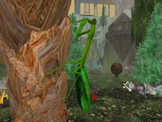 second life animals - praying mantis