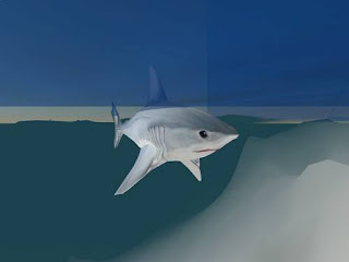 second life animals - shark