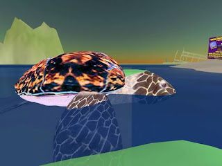 second life animals - sea turtle