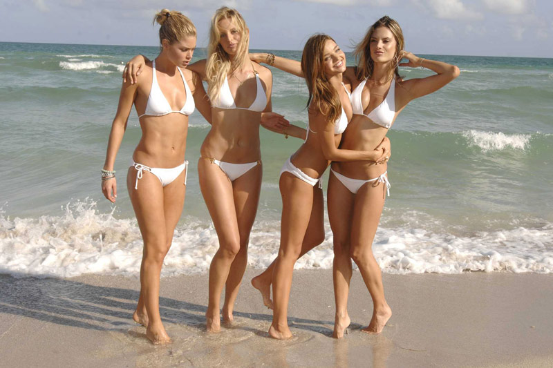 Top Bikini Models
