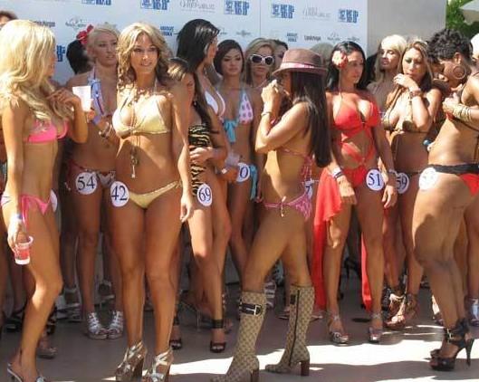 The Hot 100 Bikini Thingy