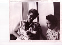 My mom, my baby, and me - 1957